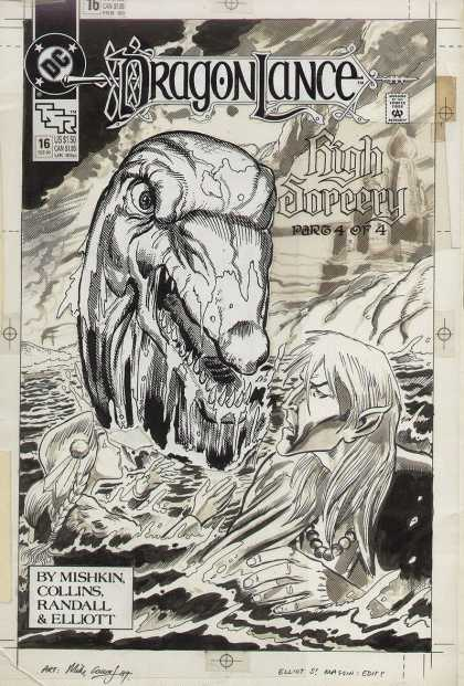 Original Cover Art - Dragonlance