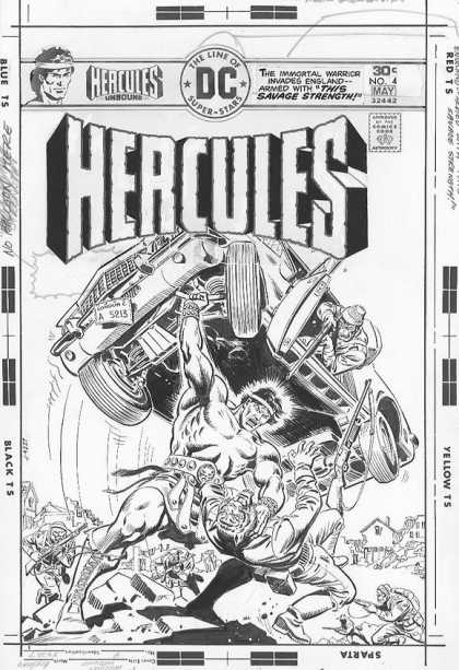 Original Cover Art - Hercules Unbound