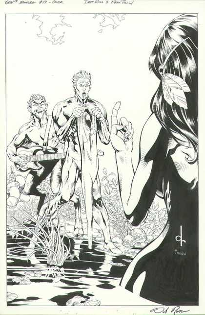 Original Cover Art - Gen 13 Bootleg