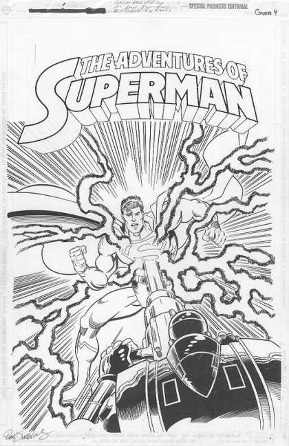 Original Cover Art - Superman One-Shot Cover