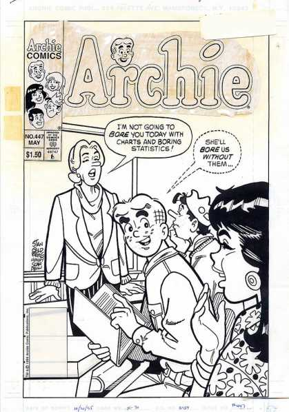 Original Cover Art - Archie