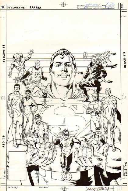 Original Cover Art - Action Comics #601 Cover (1988)