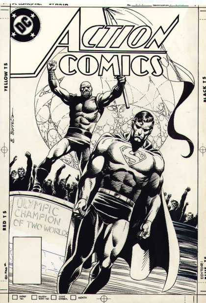 Original Cover Art - Action Comics #574 Cover