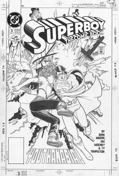 Original Cover Art - Superboy