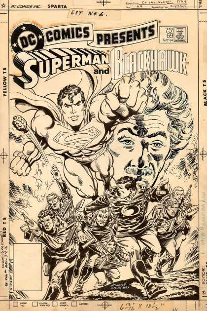 Original Cover Art - DC Comics Presents #69 Cover (1983)