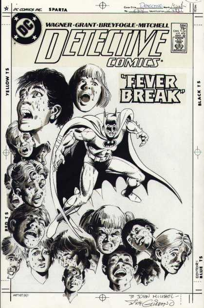 Original Cover Art - Detective Comics #584 (Cover) 1987