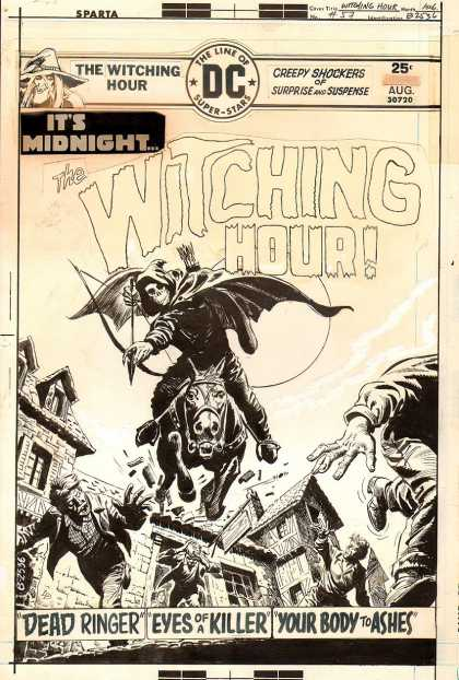 Original Cover Art - The Witching Hour #57 Cover (1975)