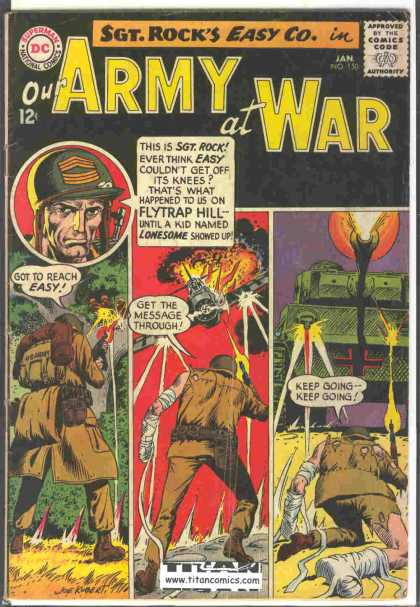 Our Army at War 150 - Joe Kubert