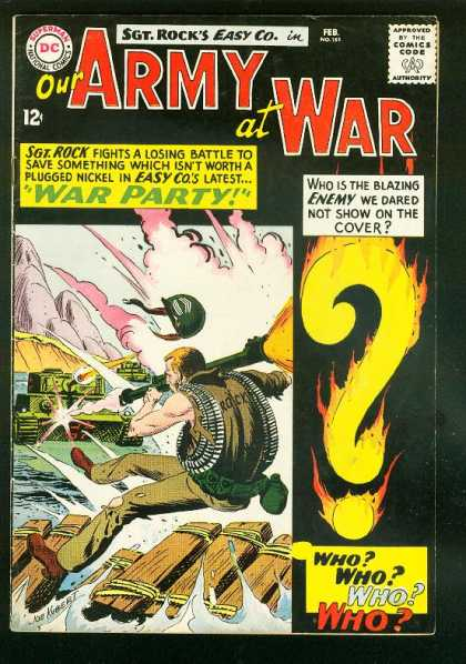 Our Army at War 151 - Joe Kubert