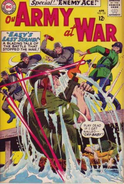 Our Army at War 153 - Joe Kubert