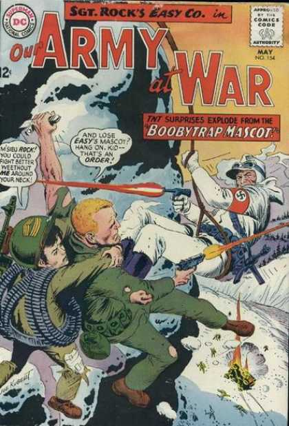 Our Army at War 154 - Joe Kubert