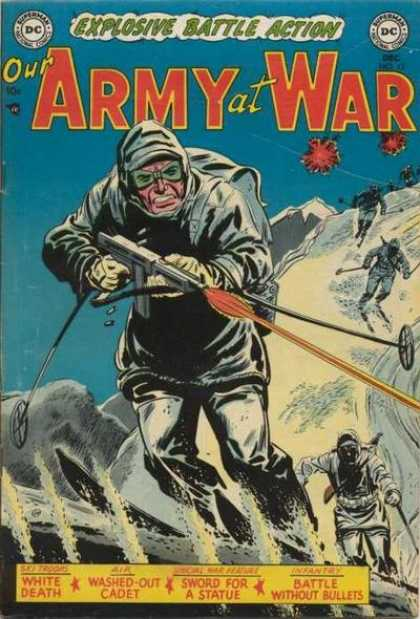Our Army at War 17 - Skiing - Soldiers - Submachinegun - Explosive Battle Action - Mountainside
