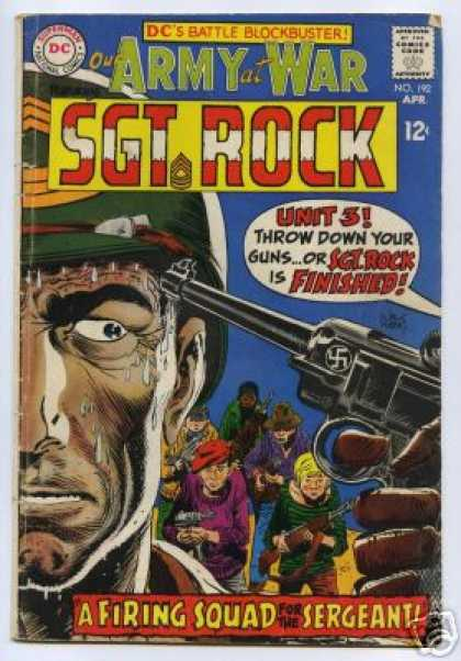 Our Army at War 192 - Dc - Superman - National Comics - Approved By The Comics Code Authority - Sgt Rock - Joe Kubert