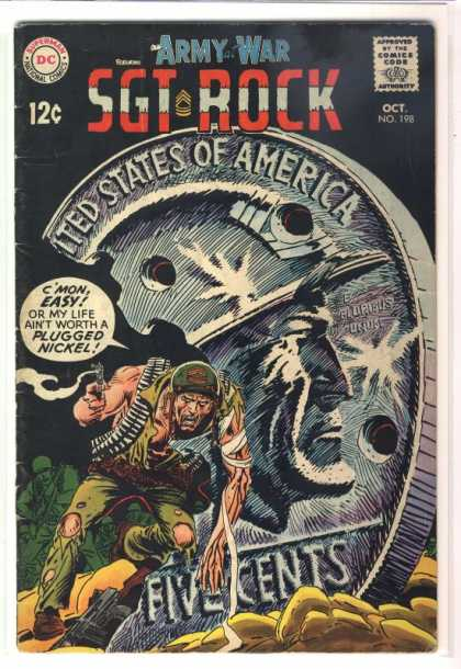 Our Army at War 198 - Nickel - Joe Kubert