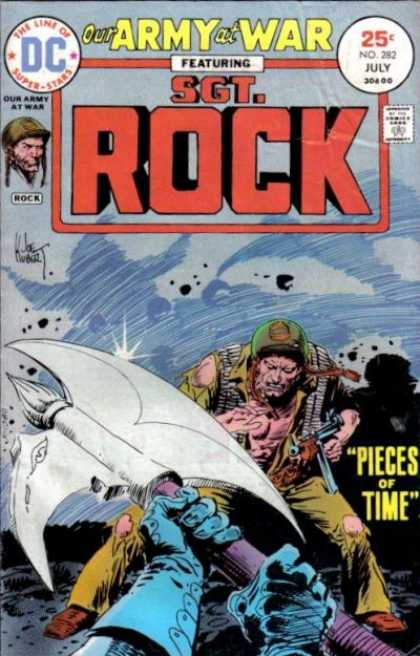Our Army at War 282 - Sgt Rock - Axe - Soldier - Pieces Of Time - Military - Joe Kubert