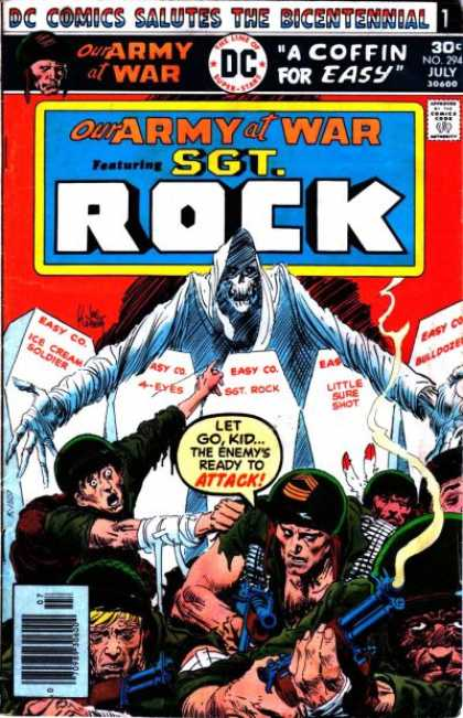 Our Army at War 294 - War - Coffin - Easy Co - Little Sure Shot - Ice Cream Soldier - Joe Kubert