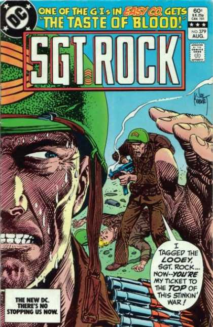 Our Army at War 379 - Gis In Easy Co - Taste Of Blood - Sgt Rock - No 379 Aug - War
