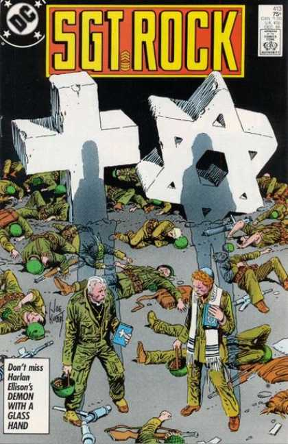 Our Army at War 413 - Soldiers - Harlan Elison - Dc - Priest - Rabbi