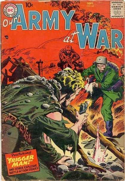 Our Army at War 62 - Dc - Dc Comics - War - German - Nazis - Joe Kubert
