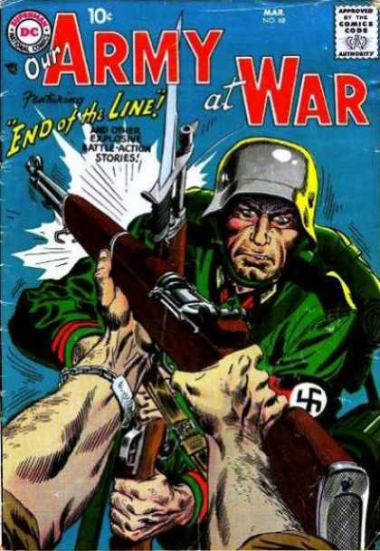 Our Army at War 68 - Joe Kubert