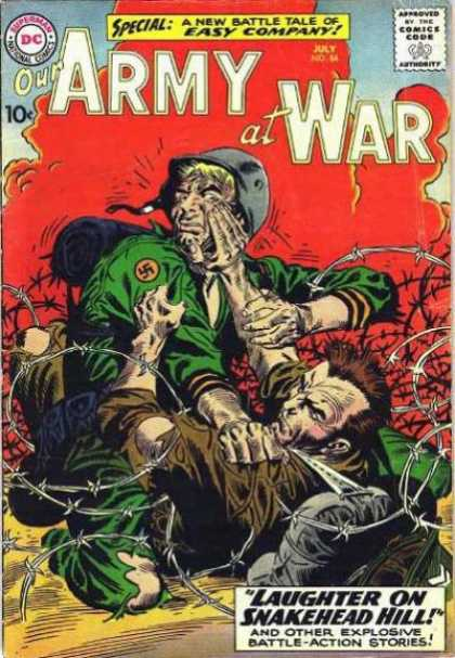 Our Army at War 84 - Joe Kubert
