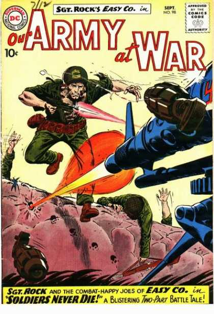 Our Army at War 98 - Joe Kubert