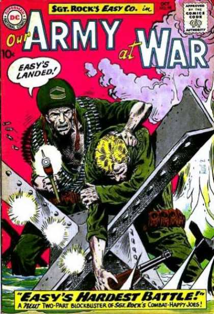 Our Army at War 99 - Joe Kubert