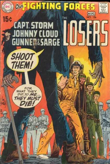 Our Fighting Forces 126 - Joe Kubert