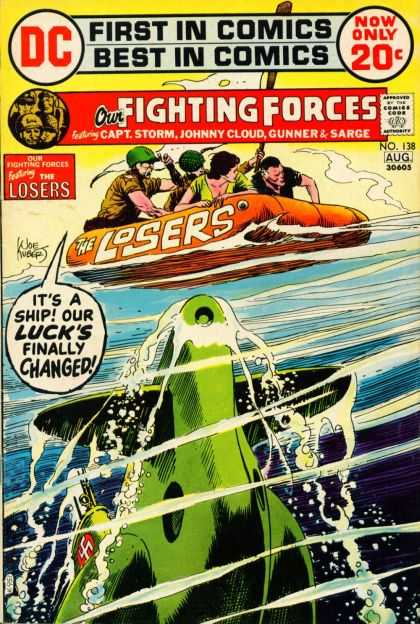 Our Fighting Forces 138 - Joe Kubert