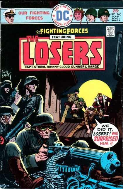 Our Fighting Forces 160 - Joe Kubert