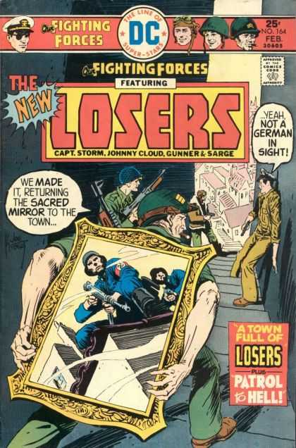 Our Fighting Forces 164 - Dc Comics - Silver Age - Losers - War Stories - Wwii - Joe Kubert