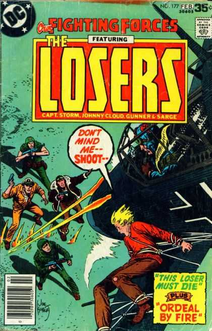 Our Fighting Forces 177 - The Losers - Dc Comics - Capt Storm - Johnny Cloud - Gunner U0026 Sarge - Joe Kubert