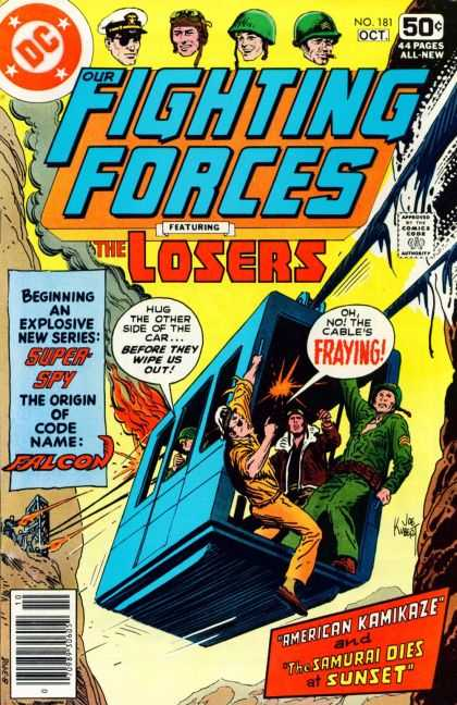 Our Fighting Forces 181 - Joe Kubert