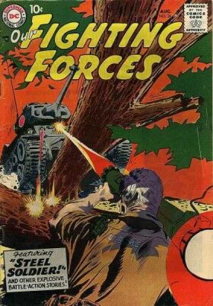 Our Fighting Forces 36 - Joe Kubert