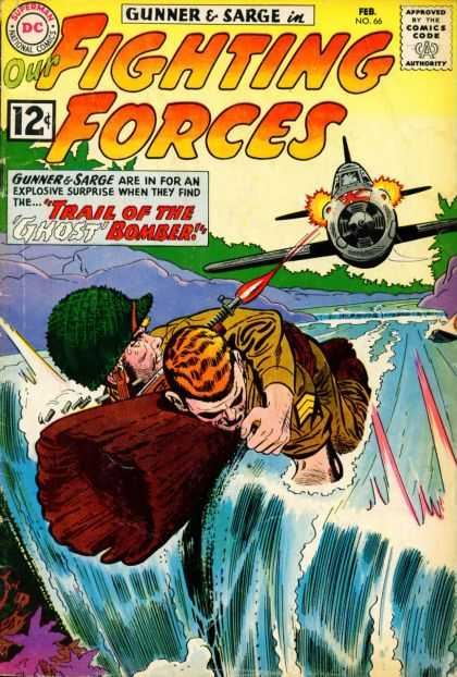 Our Fighting Forces 66 - Gunner - Sarge - Ghost Bomber - Fighter Plane - Issue No 66