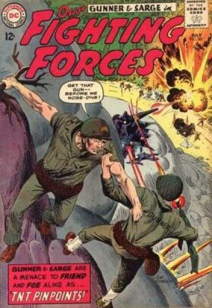 Our Fighting Forces 85 - Joe Kubert