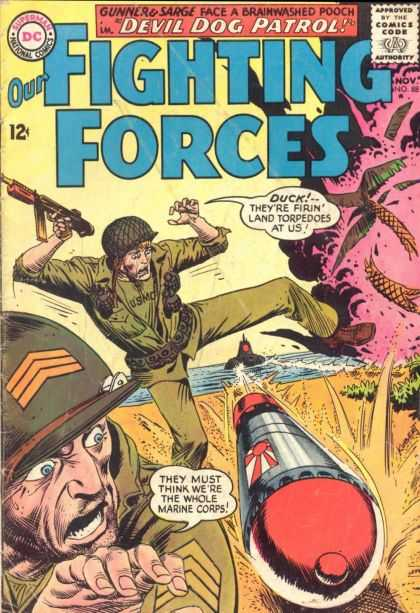 Our Fighting Forces 88 - Joe Kubert
