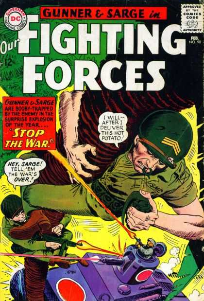 Our Fighting Forces 90 - Joe Kubert