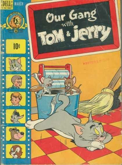 Our Gang with Tom & Jerry 56 - Dell - Lion - March - Bucket - Small Equipment