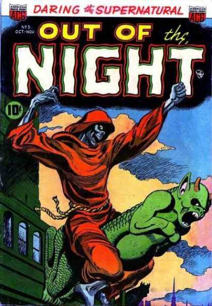 Out of the Night 5 - Witch - Monster - Ride - Fly - Fight