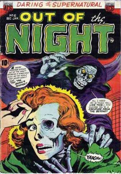 Out of the Night 6 - Ghoul - Revenge - Phantom - Creature - Beyond