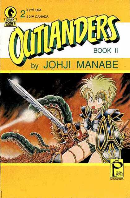 Outlanders 2 - Sword - Armor - Worm - 200 - Book 2