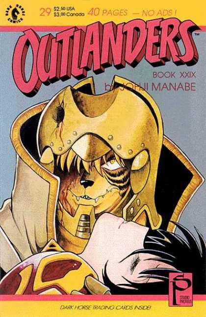 Outlanders 29 - Dark Horse Trading Cards - Book Xxix - Manabe - Sp - 250 Usa