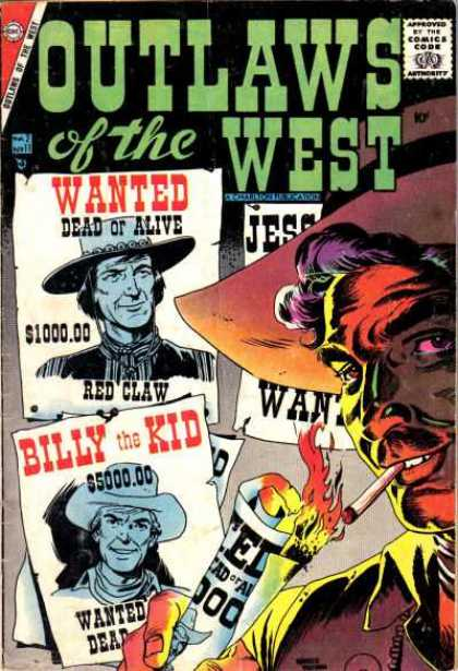 Outlaws of the West 11 - Billly The Kid
