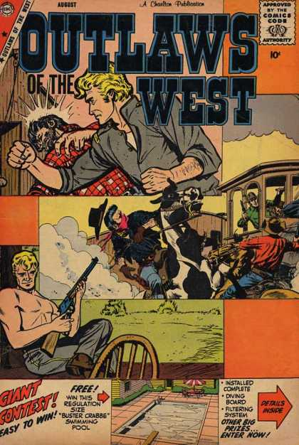 Outlaws of the West 21 - Western - Rifle - Fistfight - Horse - Swimming Pool