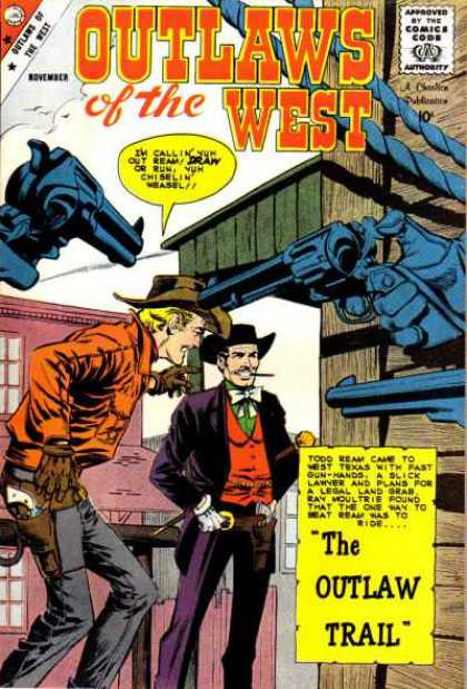 Outlaws of the West 22 - Hero - The Man - The Saviour - The Suparman - Spiderman