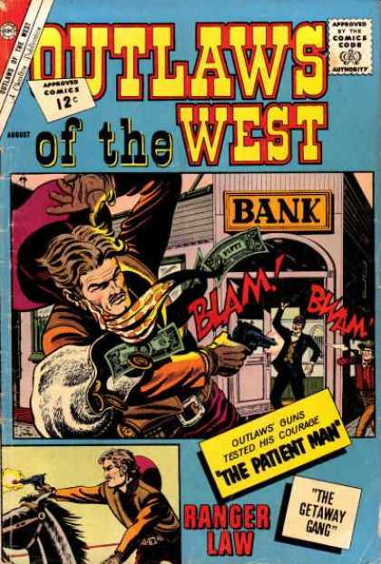 Outlaws of the West 38 - Bank - Gun Money - Cowboy - Ranger Law - The Patient Man
