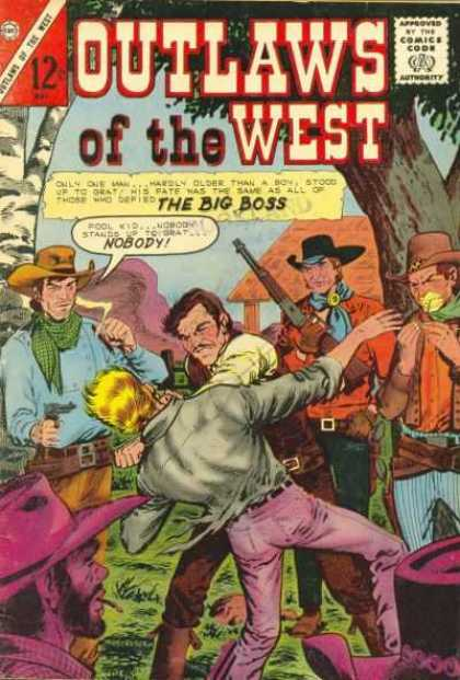 Outlaws of the West 53 - Cowboy - The Big Boss - Gun - Tree - Hat