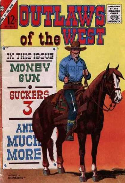 Outlaws of the West 55 - Western - Money Gun - Suckers 3 - Horse - Cowboy