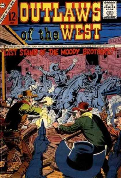 Outlaws of the West 59 - Last Stand Of The Moody Brothers - Cowboys - Shootout - Western - Horseback